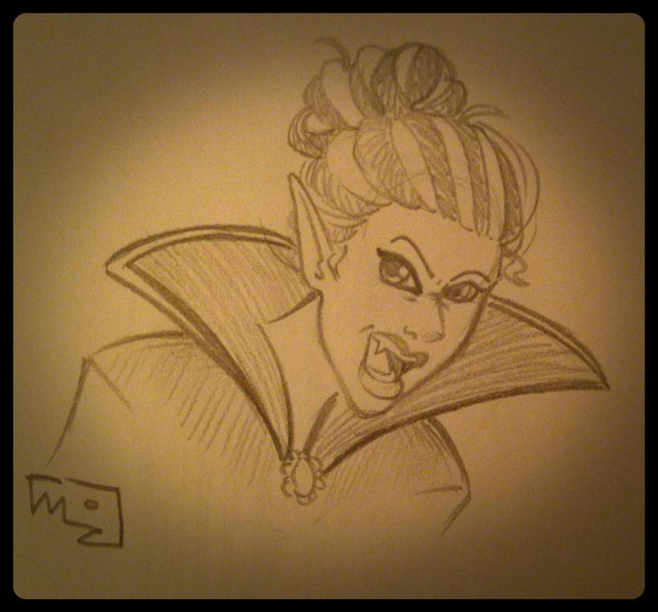 Vampiress by MizMaxter