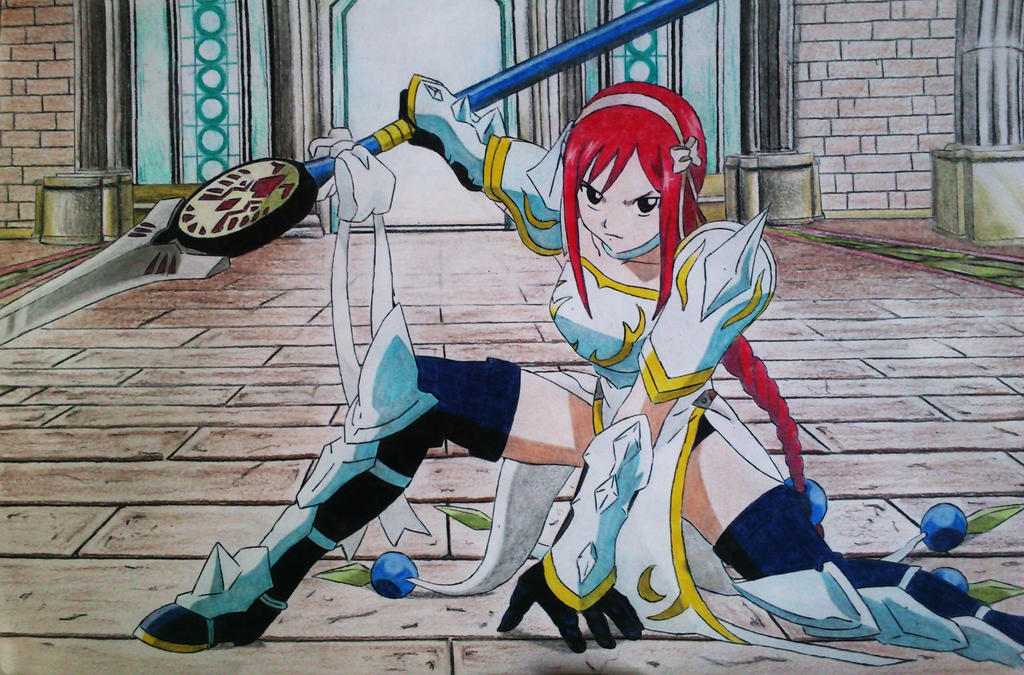 erza Lightning empress armor - Fairy Tail by DrtThiagoFairy Tail Erza Flame Empress Armor