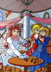 Princess Belena's Wedding by labbaART