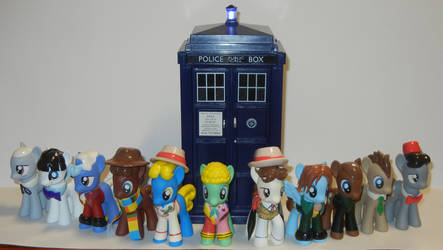 The Eleven Doctors and the TARDIS
