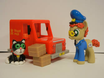 Postman Pat and his Black and White Cat by SilverBand7
