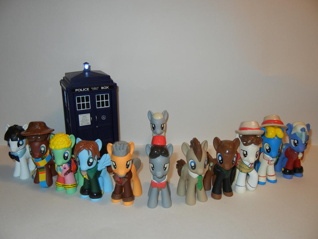The Twelve Doctors and the TARDIS
