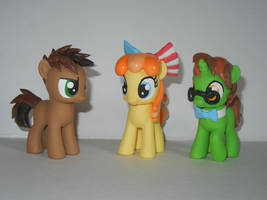 FillyCon Mascots by SilverBand7