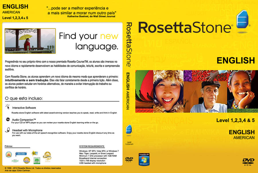 Rosetta Stone - English DVDCover custom br by erickcartman ... Rosetta Stone Login