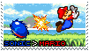 Sonic Vs. Mario Stamp by ThellsStamps