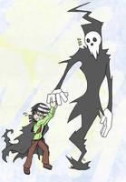 Shinigami-Sama and Son by NyxZeta