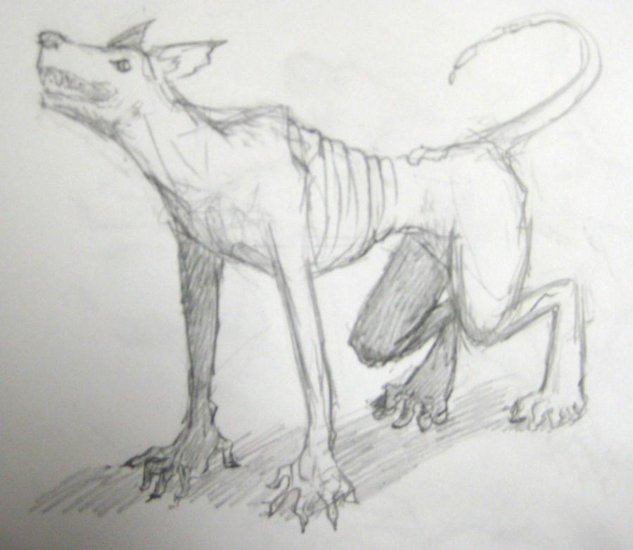 JC Ghoul sketch by NyxZeta