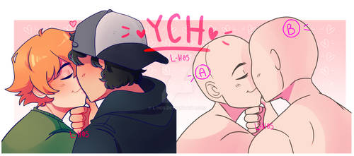 (PAUSED) YCH #1O - Kiss