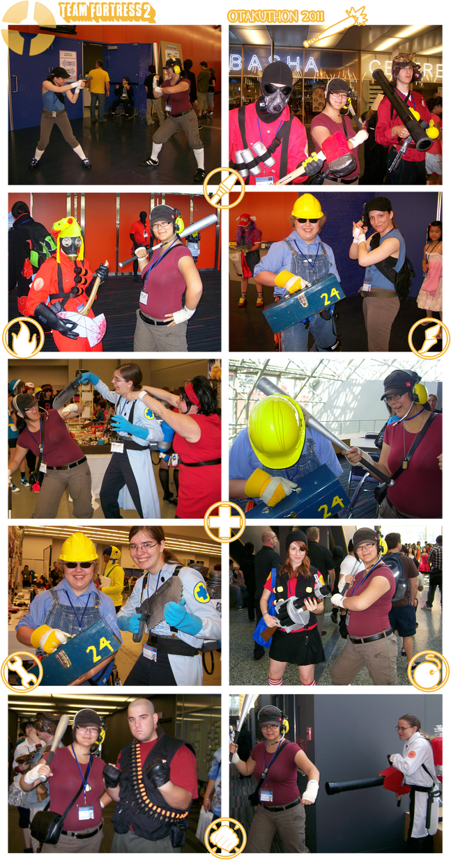 TF2 Meet the Cosplayers by MyriWind