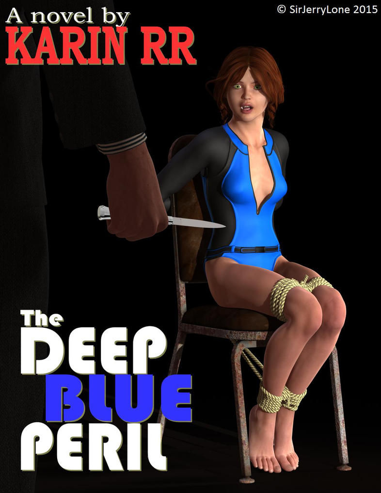 The Deep Blue Peril - Cover Book by SirJerryLone