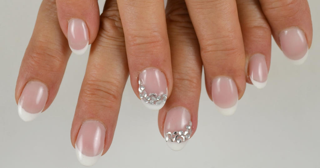 Short French nails by Ambima on DeviantArt
