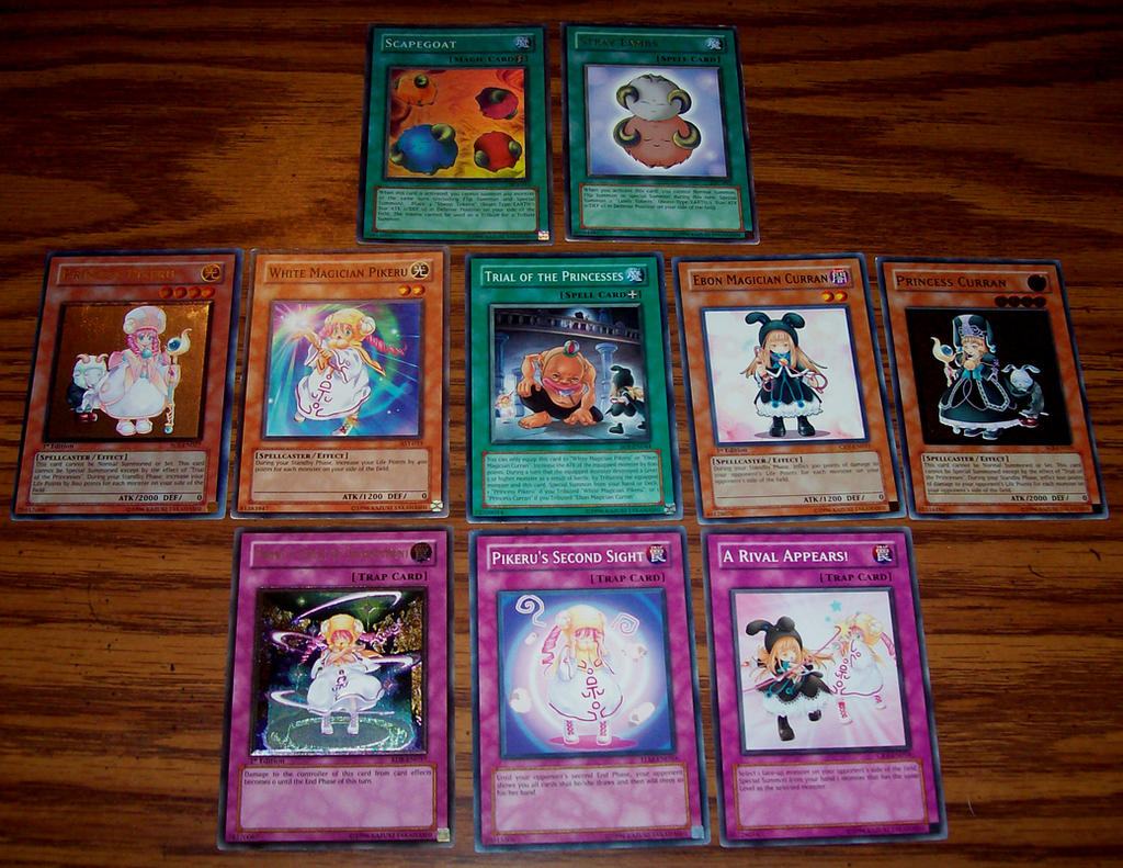 pikeru yugioh cards by chibi22 on deviantart