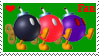 Bob-omb Fan Stamp by chibi22