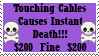 Death Cables Stamp by chibi22