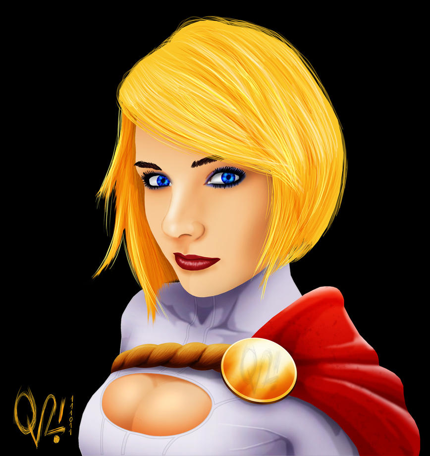 PowerGirl by BlackDanieL