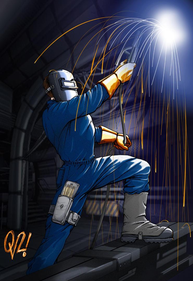 Soldador Welder By Blackdaniel On Deviantart