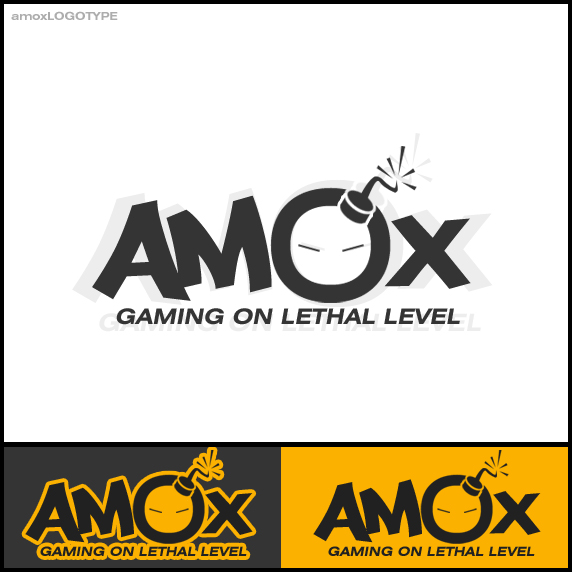 amox LOGOTYPE by sCreamdeluxe