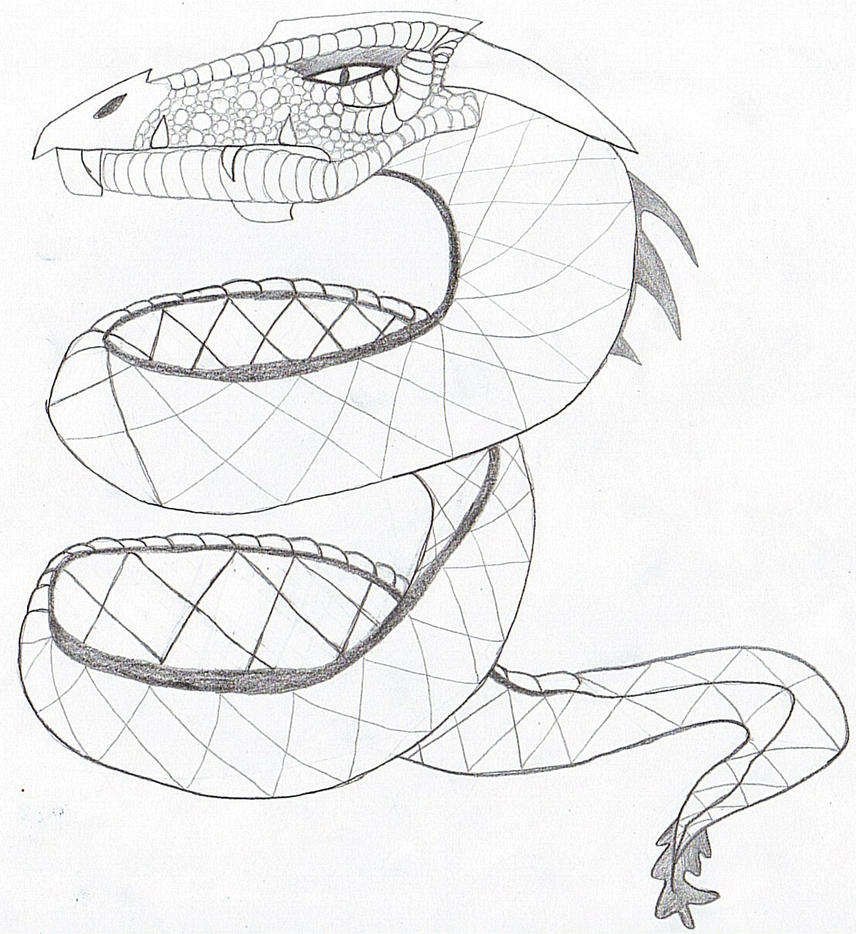 sea serpent coloring pages - photo#22