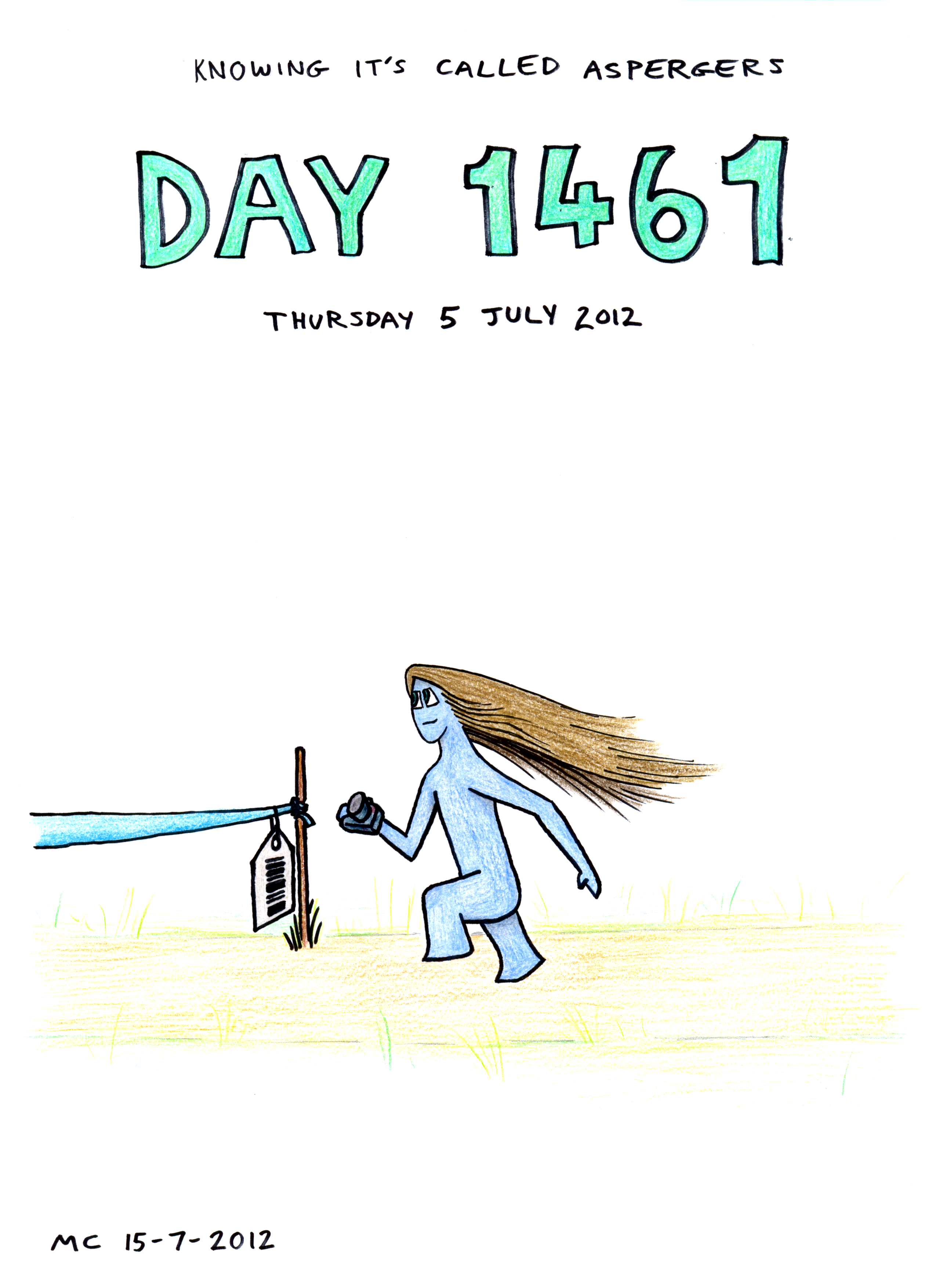 KICA Day 1461: Schedule Eats Dust by TheColclough