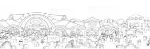 Papertowns: Desmonton (full scene)