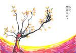 Inkblot Tree I