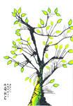 Inkblot Tree II