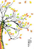 Inkblot Tree V