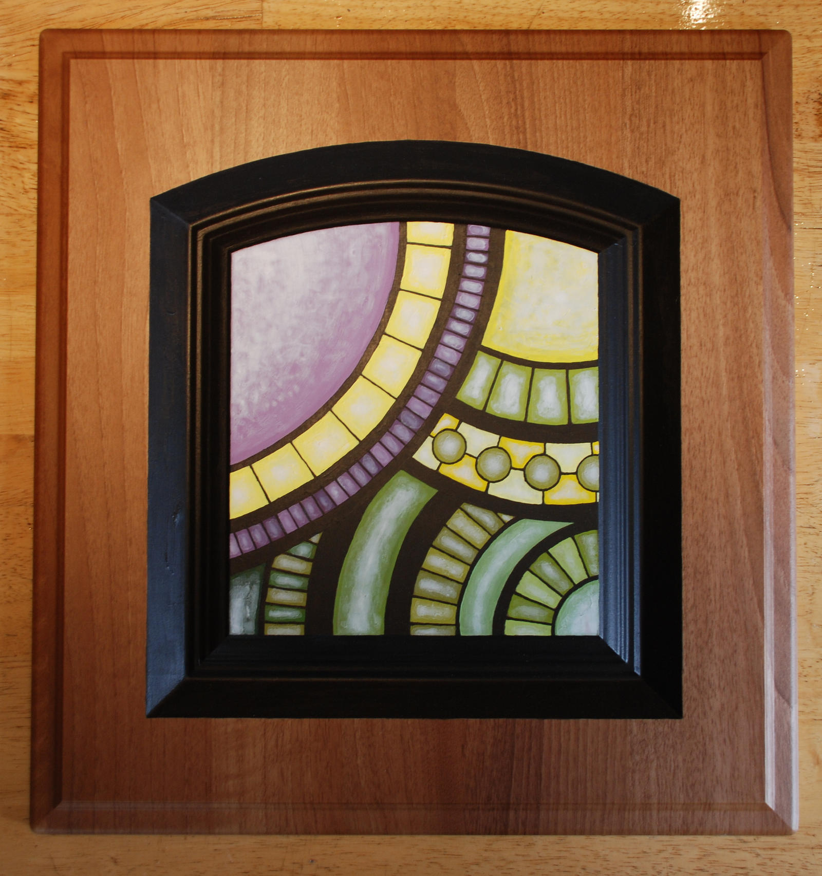 Stained Glass III by TheColclough