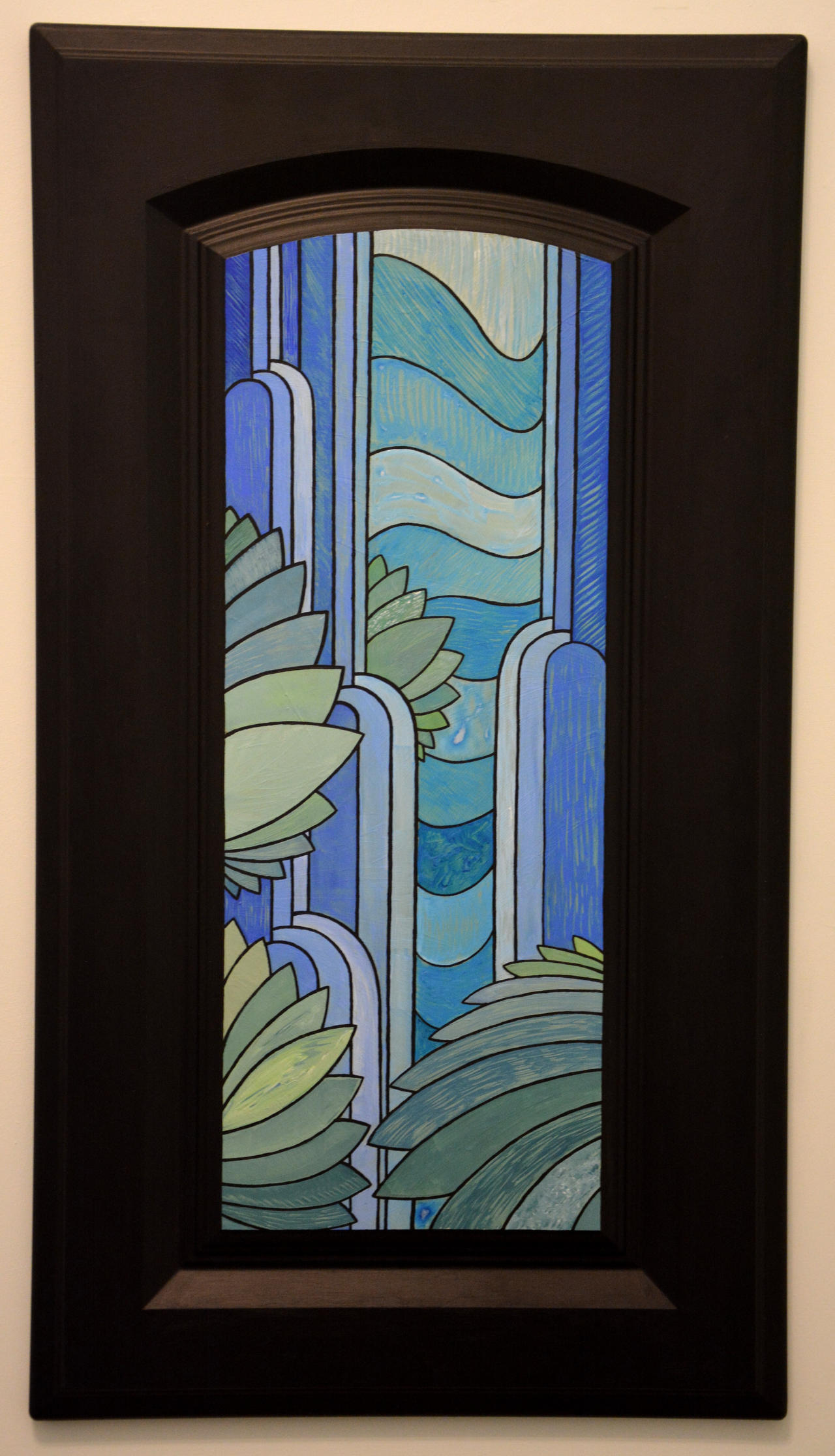 Stained Glass IX: Cataract by TheColclough
