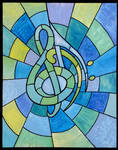Stained Glass X: Clef