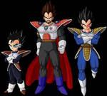 King Vegeta's family