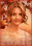 Kate Beckett (Stana Katic) 3 - Mood of Fall by Elisa-Gallion