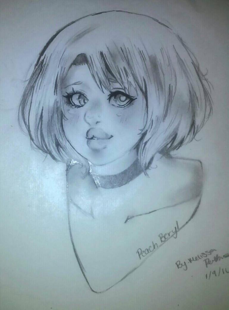 .:Peach Beryl:. by Freezen-Girl