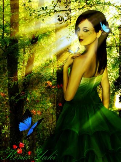 Morning Butterfly by Kona-Yuki