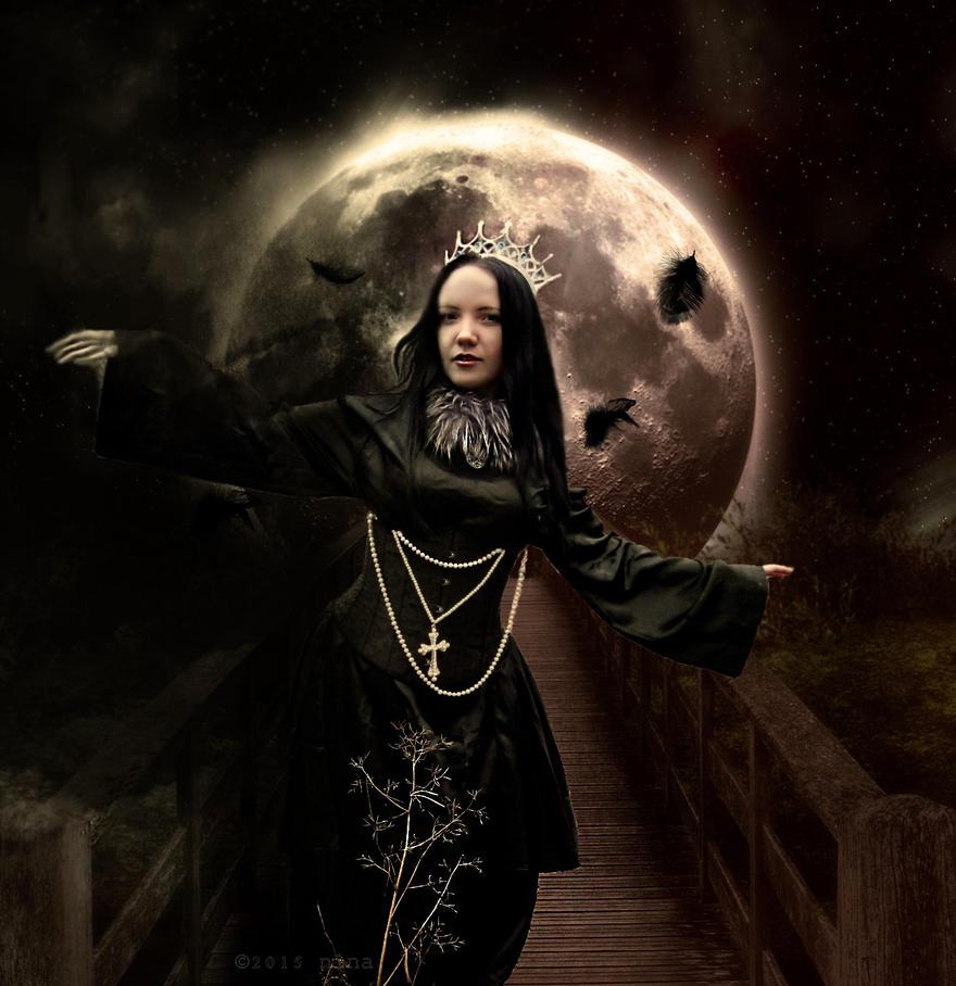 pale queen by ninalovelyart