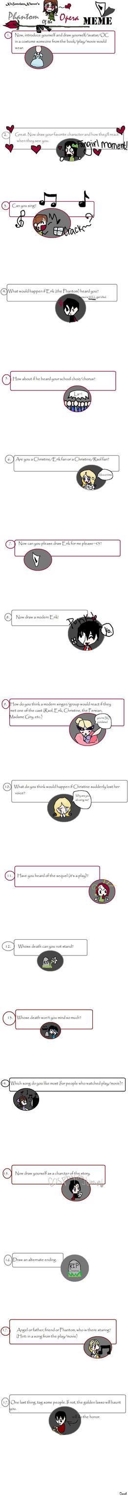 Phantom of the Opera meme by XcHocolateXluver