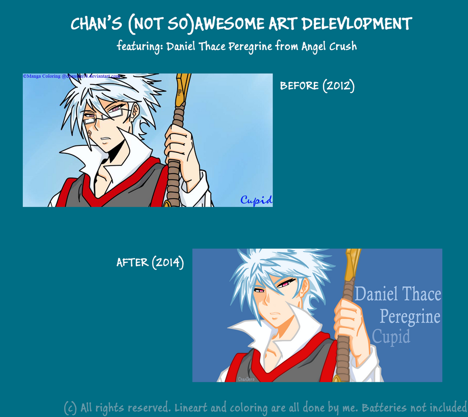 My (Not So)Awesome Art Development (Manga Color) by chansan18