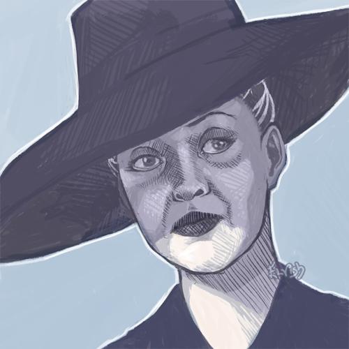 Bette Davis by TheElvishDevil