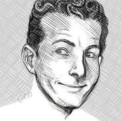Danny Kaye by TheElvishDevil