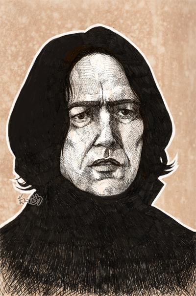 Severus Snape by TheElvishDevil