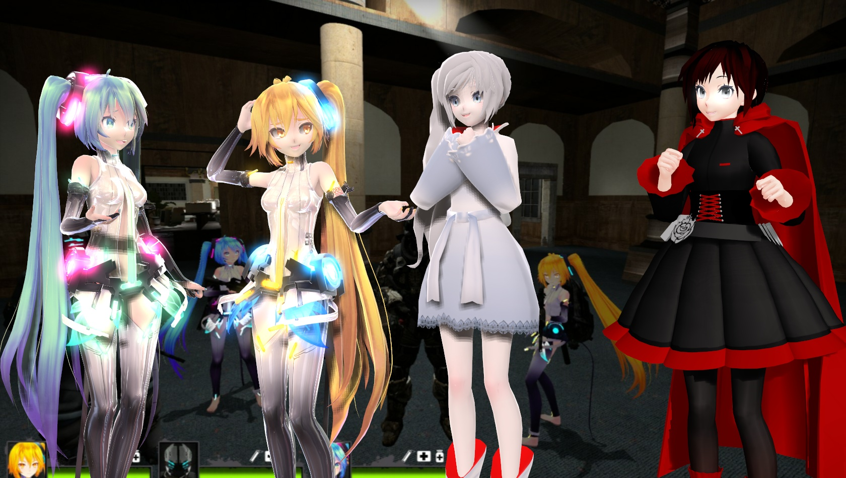 Anime Characters For Gmod : Can we be in l d and gmod too by masterchief on