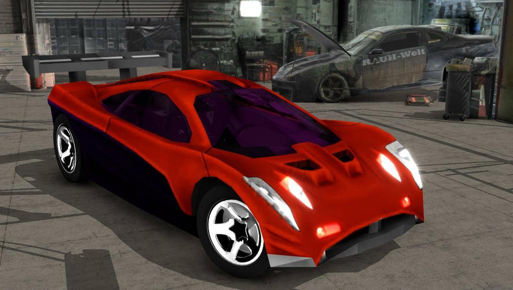 mmd cars  hw prototype 12 velocity x model by