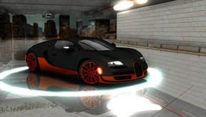[MMD Cars] 2011 Bugatti Veyron Super Sport (Front)
