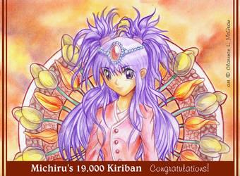 19000 Kiriban for Michiru