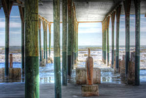 Under the Pier by StewartSteve