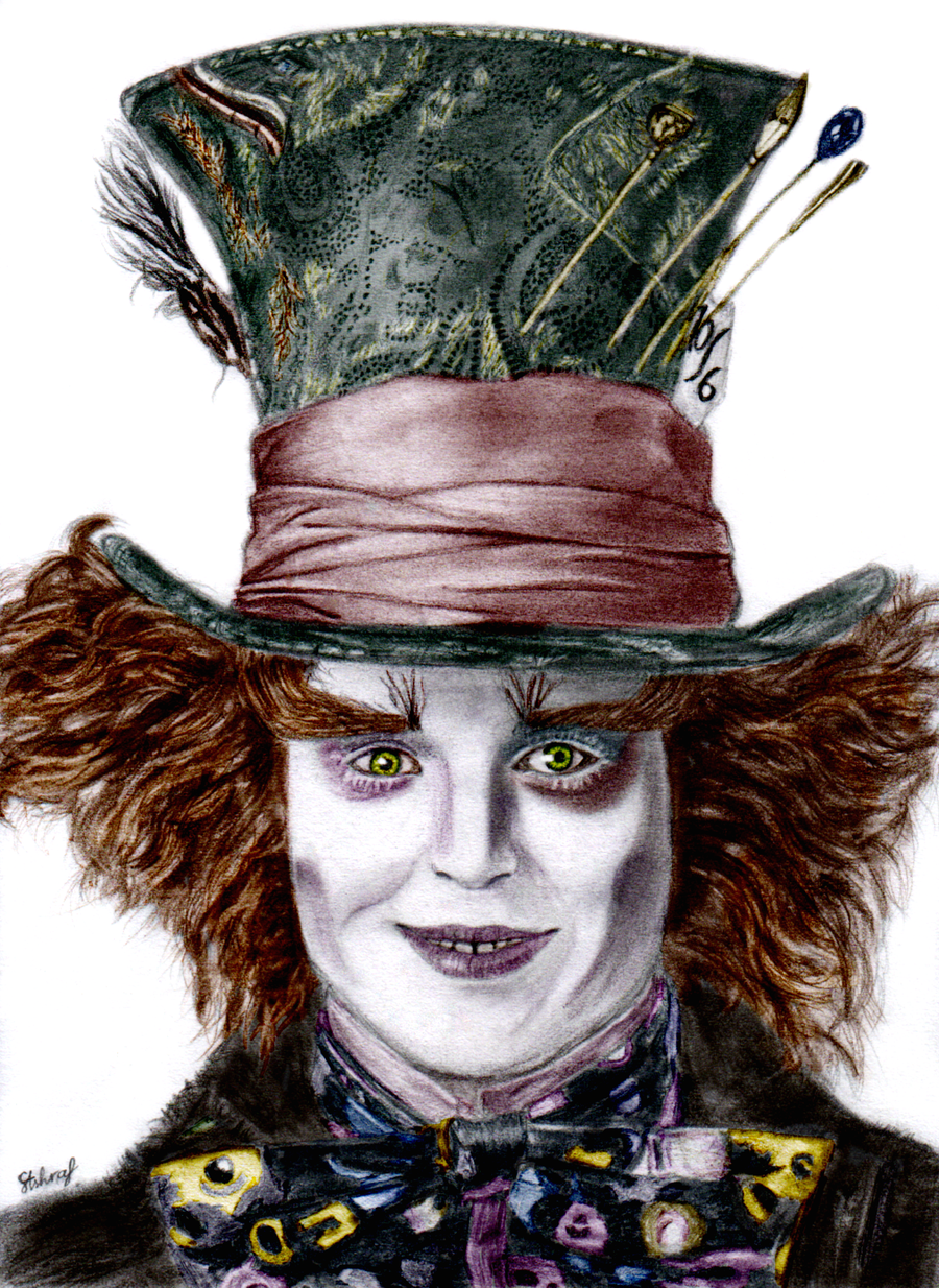 Mad Hatter Coloured by esayelemay on DeviantArt