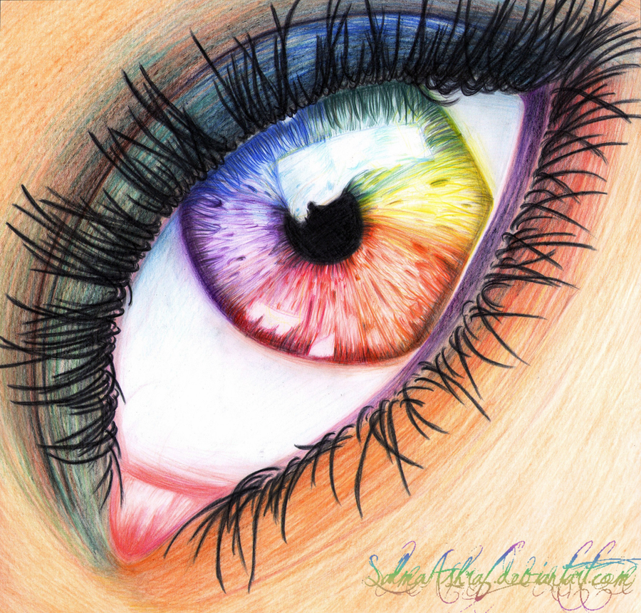 Rainbow Eye by SalmaAshraf