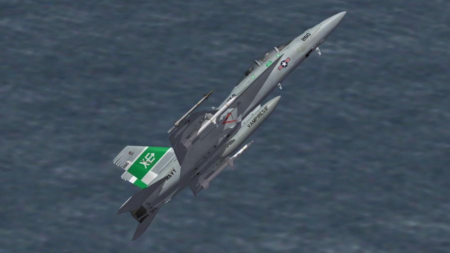 VX-9 F/A-18F by EricJ562