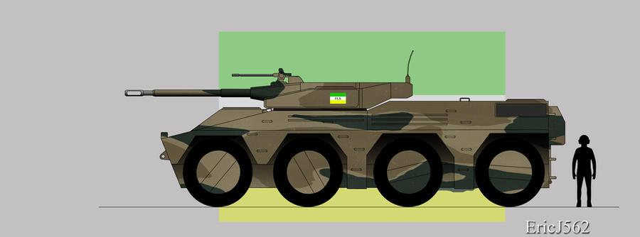 Skulker Light Tank by EricJ562
