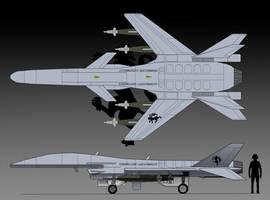 Viper UCAV by EricJ562